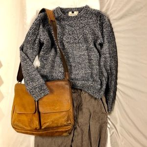 🍂🍁Topman Chunky Pullover Sweater Blue🍁🍂